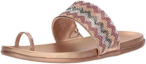 Kenneth Cole Reaction Women's Slim Tricks 2 Toe Ring Flat Sandal