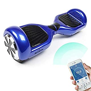 "Bluefin 6.5"" Classic Swegway Board Self Balancing Scooter with Built-in Bluetooth Speakers and Carry Bag (B01M2A00JK) 