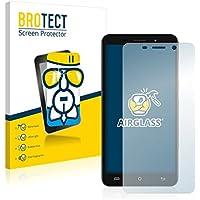 BROTECT AirGlass Protector Pantalla Cristal Flexible Transparente para Cubot X9 Protector Cristal Vidrio - Extra-Duro, Ultra-Ligero, Ultra-Claro