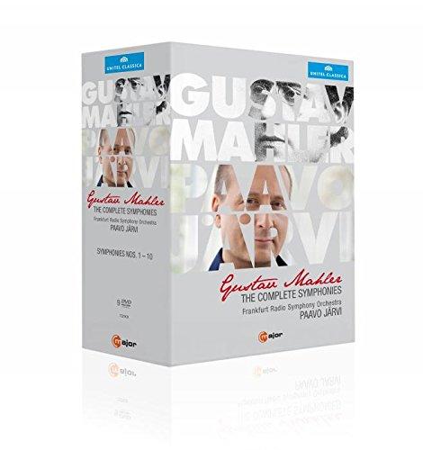 Mahler: Complete Symphonies [Frankfurt Radio Symphony Orchestra, Paavo Järvi] [9 DVDs]
