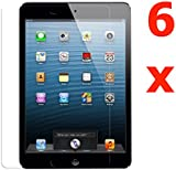 Visibee Pack of 6 Screen Protectors for New Apple iPad Mini