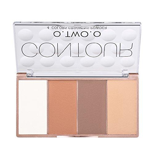 O.TWO.O 4 Farben Concealer Creme Palette Gesicht Foundation Primer Makeup Palette