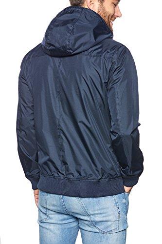 SOLID Herren Windbreaker TEYS Übergangsjacke Jacke Fleece-Futter Kapuzen-Jacke Zip Zipper Reißverschluss insignia blue (1991)