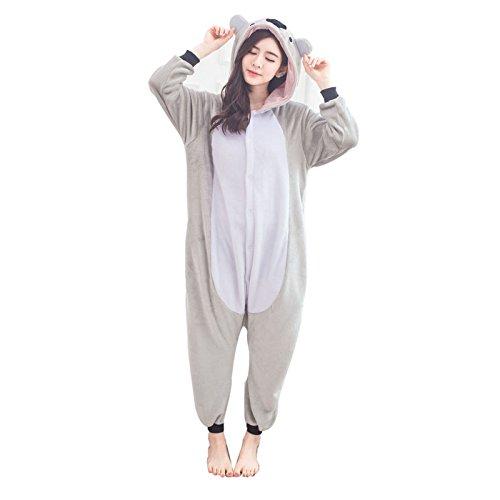 Donpandas Tier Karton Kostüm Erwachsene Pyjama Onesies Sleepsuit -