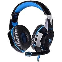 KOTION EACH USB Estéreo Cascos Gaming Auriculares de Juego de Rey Para PC con Micrófono Control