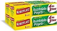 Koroplast 4 Al 3 Öde Buzdolabı Poşeti Orta 30