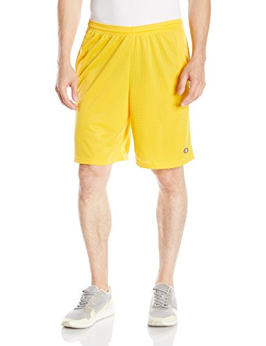 Champion Long Mesh Men's Shorts With Pockets Team Gold