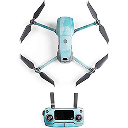 Hunpta@ für DJI Mavic 2 Pro/Zoom DroneFull Body Skin Wasserdichte Cover Protector PVC 3D Aufkleber Aufkleber Film (C) Body Protector Film