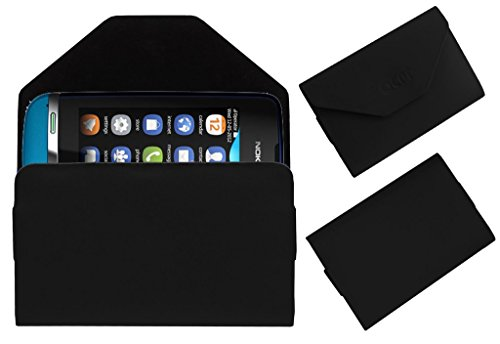 Acm Premium Pouch Case For Nokia Asha 311 Flip Flap Cover Holder Black  available at amazon for Rs.179