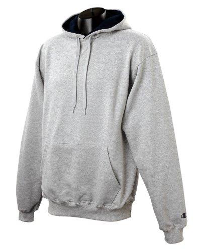 Champion 9.7 OZ, 90/10 Cotton Max Pullover Hood Grey