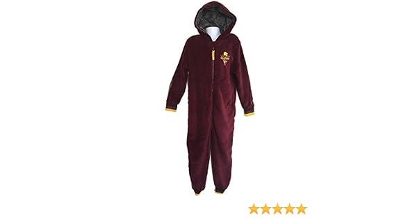 48b8510fe Boys Girls Harry Potter Onesie Sleep Suit Fancy Dress (Age 7-8 128 CM,  Burgandy Gryffindor): Amazon.co.uk: Clothing