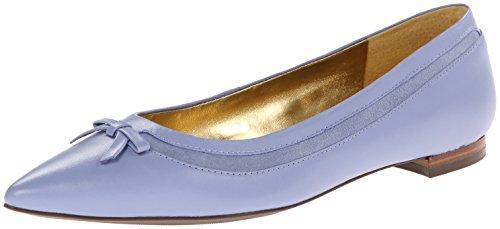 Lauren Ralph Lauren Sally Ballet Flat Wedgewood Blue Nappa