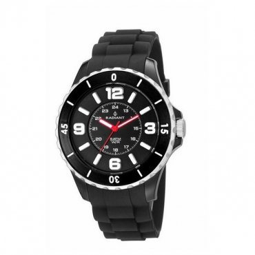 Radiant RA167606 – Watch with Resin Strap for Man, Black/Grey
