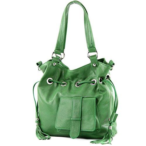 Made Italy, Borsa a spalla donna Verde (verde)