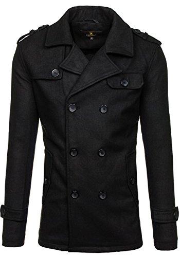 BOLF - Manteau classique – PPM 8856 - Homme Noir_306