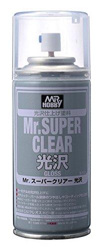 Preisvergleich Produktbild Gundam Paint Mr. Hobby Mr. Super Clear Glossy 170ml B-513