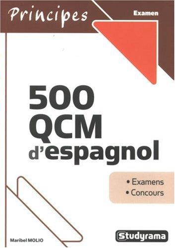 500 QCM d'espagnol