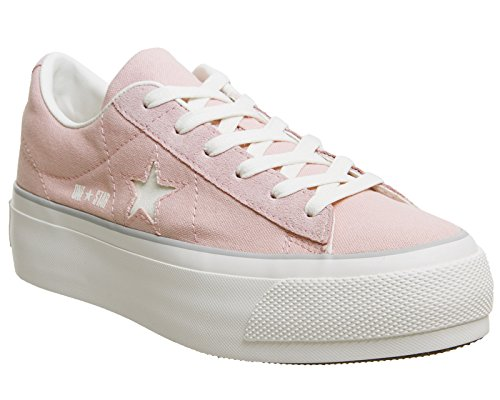 Keil Damen-sneaker, Converse (Converse 560987C One Star Platform Ox Sneakers Damen Peach 38)