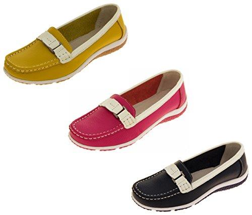 Coolers Cuir Daim Décontracté Chaussures Mocassins Femmes