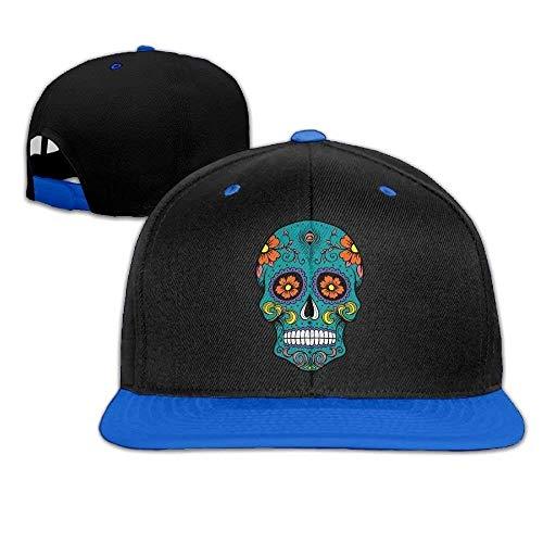Funny Baseball Caps Hats Sugar Skull Snapback Hats Hip Hop Baseball Caps Unisex