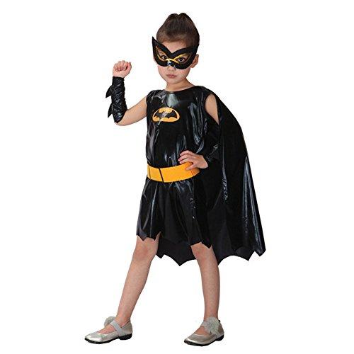 DOXUNGO Halloween Kostüm Cosplay Kleidung Kinderkleidung weiblicher Batman Spinnenmann (Kostüme Weiblich Batman)