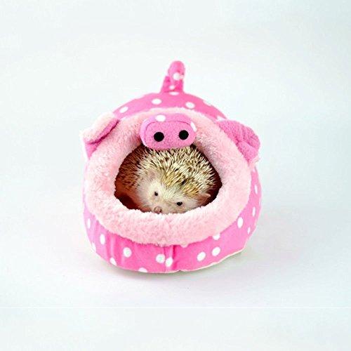 Aquiver Hamaca pequeña animal rata erizos casa ardilla cobaya cerdo cama nido Pad jaula