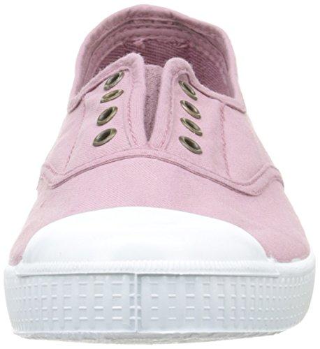 Victoria Inglesa Elastico Tintada Punt, Sneakers Basses mixte adulte Rose (42 Rosa)