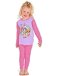 L.O.L Surprise Dolls Pijama para niñas Soft Cotton PJs Pijamas Confetti Pop Pjs Lil Sisters