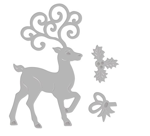 Berisfords Deer /& Santas Sleigh Festive rubans-Divers Designs 15 mm /& 25 mm