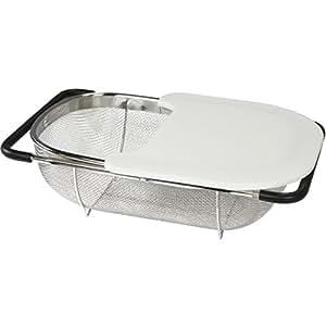 Baumalu - 342923 - Passoire d'évier ajustable 37x22cm