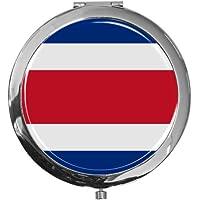 "metALUm - Extragroße Pillendose in runder Form""Flagge Costa Rica"" preisvergleich bei billige-tabletten.eu"
