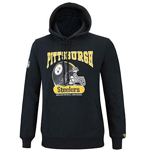 info for f8f3b 30684 New Era NFL Pittsburgh Steelers Team Apparel Script T-Shirt, Größe:L