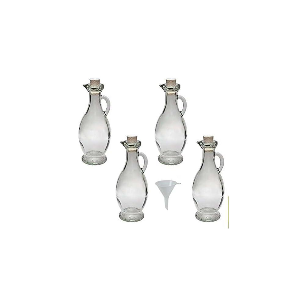 Viva Haushaltswaren Formschne Glasflaschen