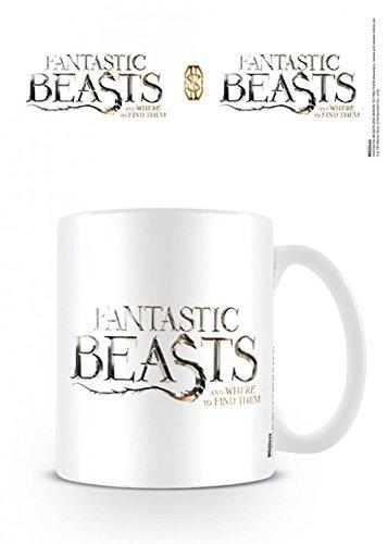Animali Fantastici E Dove Trovarli - Logo Tazza Da Caffè Mug (9 x 8cm)