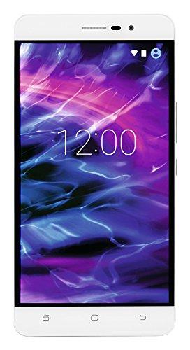 MEDION S5504 Smartphone (13,97 cm (5.5 Zoll) HD Touchscreen-Display, LTE, 13 Megapixel Rückkamera, 8 Megapixel Frontkamera, Octa-Core-Prozessor, Dual-SIM, 32 GB, Android Lollipop 5.1) weiß