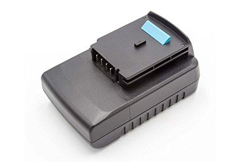vhbw Li-Ion Akku 2000mAh (18V) für Werkzeuge HP186F4L, HP186F4LBK, HP186F4LK, HP188F4L, HP188F4LBK wie BLACK & DECKER A1518L, LB018-OPE.