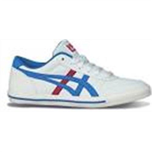 Asics  Aaron Gs - Sneakers Basses Garçons blanc - bleu - rouge