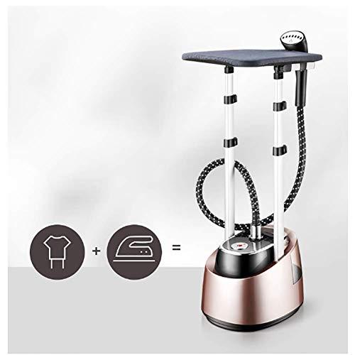 Poderoso Easytouch Vaporizador de pie Vaporera de ropa Calor rápido Presurizado Planchas de vapor Con plataforma de En posición vertical Portátil Vaporizador de prendas Para el hogar-golden 35x28x25cm(14x11x10)