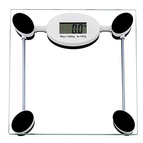 OPPP Báscula electrónica baño 180kg electrónica Digital Cuerpo pérdida de Peso Corporal balanza electrónica Salud Personal Grasa Dieta Escala de baño