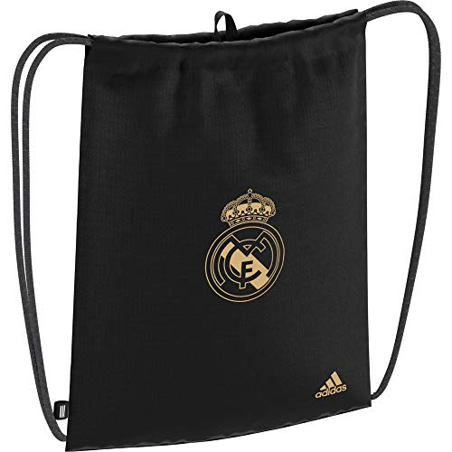 adidas Performance Real Madrid Turnbeutel schwarz/Gold, OS