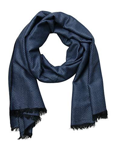 Accires Gentleman Luxury Herren Schal Prime Quality (blau neu)