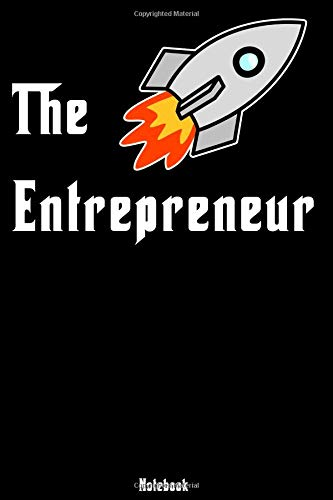 The Entrepreneur: Notebook | college book | diary | journal | booklet | memo | composition book | 110 sheets - ruled paper 6x9 inch