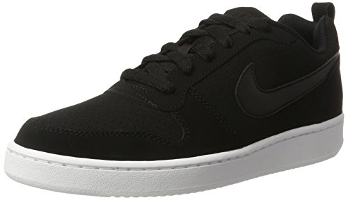 Nike Court Borough Low, Scarpe da Basket Donna, Nero Schwarz, 39 EU