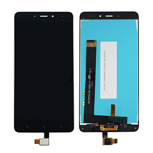 Teflon Xiaomi Redmi Note 4 LCD Display Touch Screen Digitizer Assembly Black Color