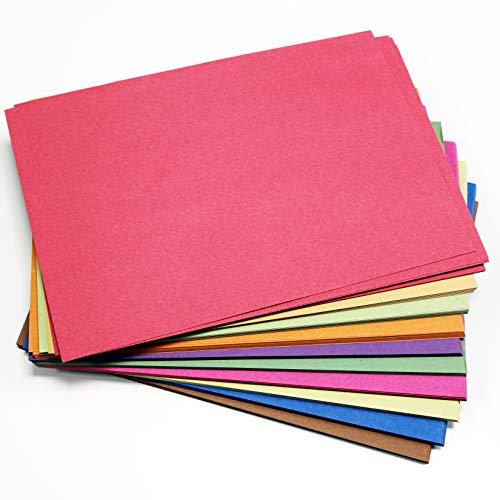 Dalton Manor A4 Zucchero Carta 250 Foglio Confezione 10 Colori x 25 Fogli