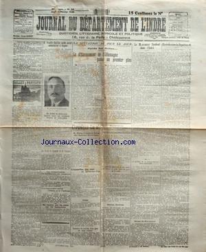 JOURNAL DU DEPARTEMENT DE L'INDRE [No 36] du 12/02/1925
