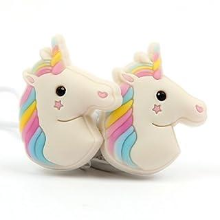 DURAGADGET 3D In-Ear Colourful Unicorn Headset/Earphones / Headphones - Compatible with AstroAI Digital Voice Recorder AVR800 Digital Voice Recorder