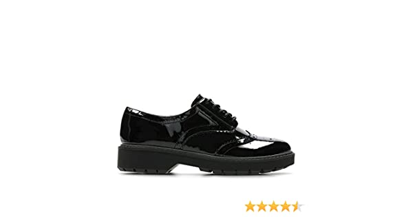 9386df8bde29 Clarks Alexa Darcy Leather Shoes in Black Patent  Amazon.co.uk  Shoes   Bags