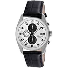 Kenneth Cole New York Herren kc8041Kleid Sport Runde Chronograph schwarz Riemen Analog Armbanduhr von Kenneth Cole New York