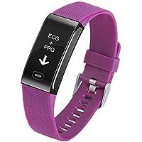 Redstrong ECG Heart Rate Tracking Blood Pressure Monitoring Smart Bluetooth Bracelet